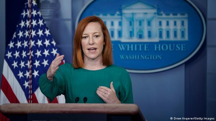 USA White House Press Secretary Jen Psaki PK