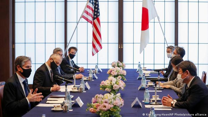 Japan USA Treffen der Außenminister