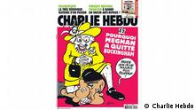 Charlie Hebdo Cover Queen Meghan