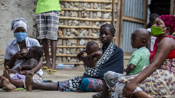 Mosambik IDPs in Cabo Delgado Provinz