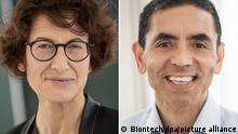 BioNTech Gründer Özlem Türeci und Ugur Sahin
