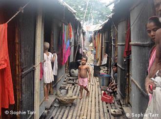 孟加拉国贫民区