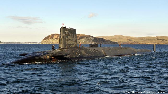 Атомная подводная лодка королевских ВМС HMS Victorious