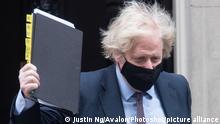 Großbritannien Premierminister Boris Johnson