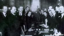 Lettland Unterschrift Riga Friedensvertrag 1921
