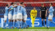 Fußball Champions League |Manchester City - Borussia Mönchengladbach