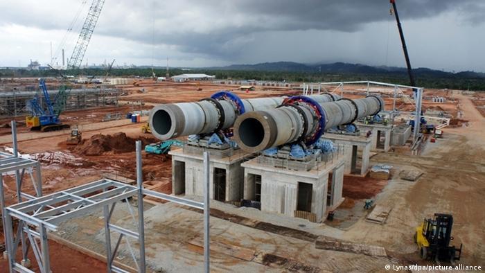 Tambang tanah jarang di Gebeng, Malaysia