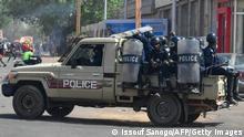 Niger Polizei