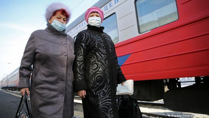 Russland Region Irkutsk | Coronavirus Impfzug