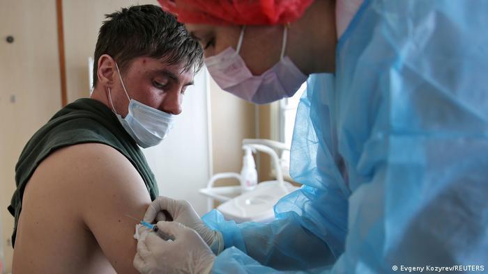 Вакцинация от ковида в Иркутске