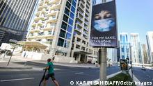 Dubai Plakat Hygienregeln