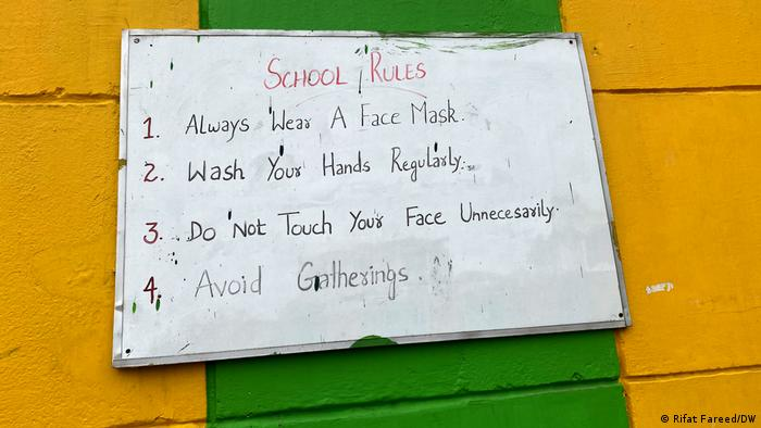 Schools in the region began classes from March 15, but with strict health and hygiene guidelines