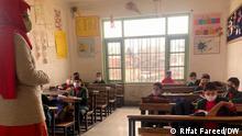 Indien Kaschmir Schule Wiedereröffnung Lockdown
