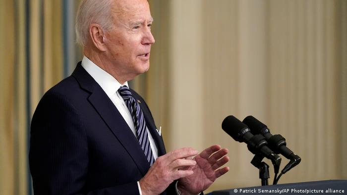 USA Washington | Joe Biden zum Coronahilfspaket