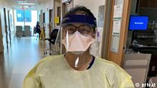 USA Krankenschwester Jessica Ybarra