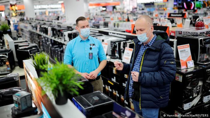 Koronawirus w Niemczech: sklepy