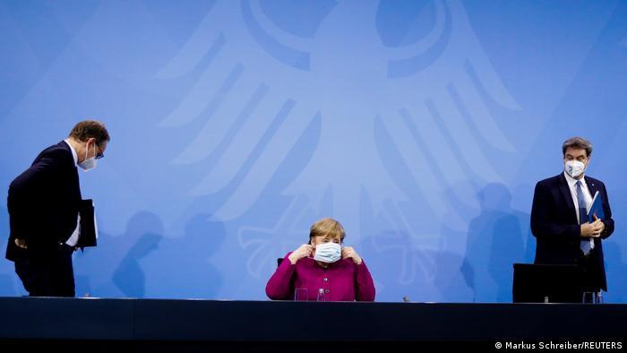 TABLEAU | Deutschland | Coronavirus dritte Welle | Müller, Merkel, Söder