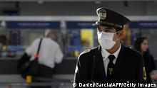 Argentinien I Security Guard am Flughafen