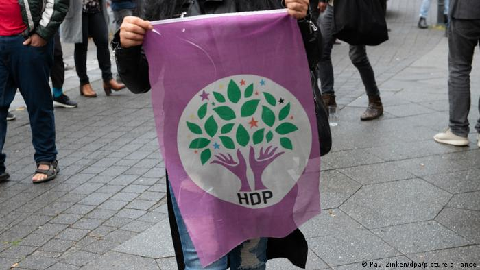 Symbolbild Pro-Kurdische Partei HDP