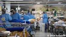 Brasilien Corona-Pandemie | Krankenhaus Porto Alegre