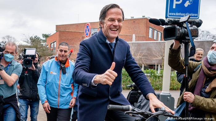 Niederlande I Mark Rutte I Jubel