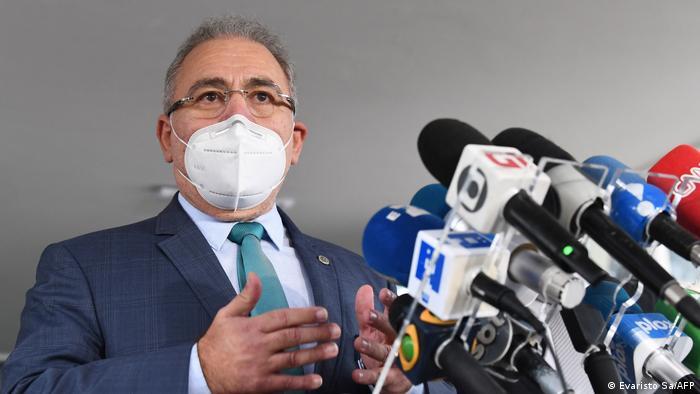 Brazilian Health Minister Marcelo Queiroga