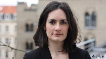 Melina Grundman, urednica u DW