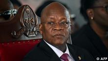 Tansania Präsident John Magufuli verstorben