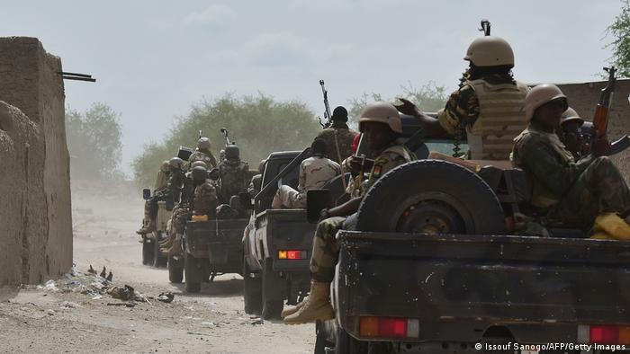 Des soldats nigériens à la traque de Boko Haram en 2016
