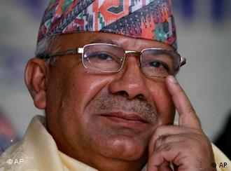 Nepal's Prime Minister Madhav Kumar Nepal resigned on Wednesday after just over a year in office