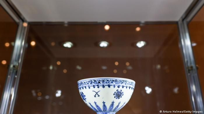 A rare white 'Floral' Bowl from the Ming Dynasty, Yongle Period