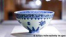 Sotheby Seltene weiße Blumenschale aus der Ming-Dynastie, Yongle-Periode für $750.000 versteigert