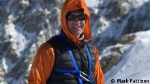 Bergsteiger Mark Pattison