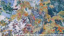 "Natalija Gontscharowa, Eberesche. ""Panino"", bei Wjasma, 1907/08, Öl auf Leinwand, 99,4 x 69 cm, Staatliche Tretjakow-Galerie, Moskau, © VG Bild-Kunst, Bonn 2020"