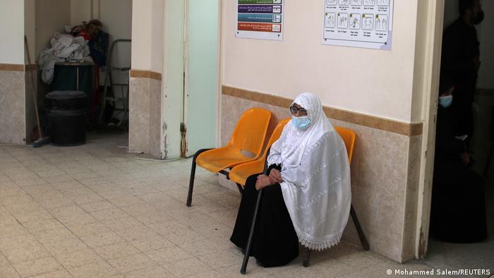 COVID vaccinations in Gaza