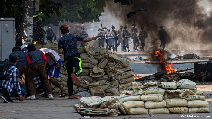 Kekerasan di Myanmar, 18 Maret 2021