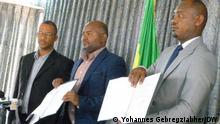 Äthiopien Zusammenarbeit Balderas for Genuine Democracy National Movement of Amhara