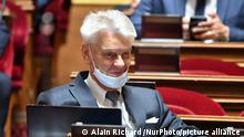 Frankreich Politiker Alain Richard