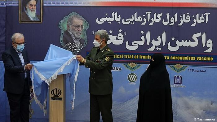 Iran   Corona Impfung im Iran