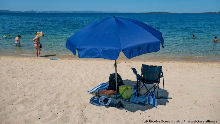 Griechenland Halkidiki Aretes Beach