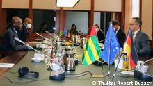 Togo Außenminister Robert Dussey in Deutschland