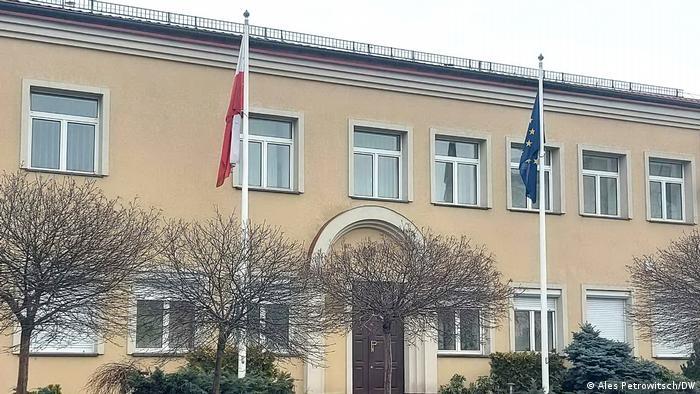 Belarus Polnische Botschaft in Brest