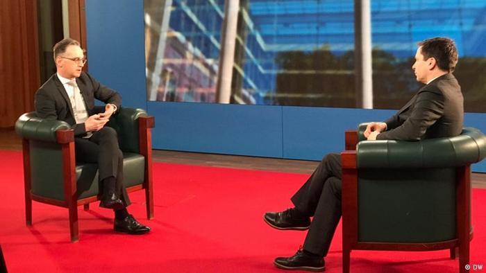 Interview Richard Walker und Heiko Maas