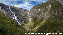 Mardalsfossen Wasserfall, Dovrefjell-Sunndalsfjella-Nationalpark