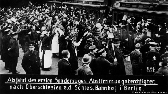 Emigranci z Berlina jadą na plebiscyt