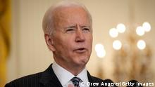 USA Joe Biden Rede COVID-19 Impfungen