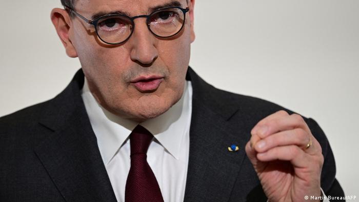 Frankreich Premierminister Jean Castex PK Coronavirus Strategie Frankreich