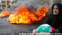 Libanon Beirut Protest Ausschreitungen Inflation Wirtschaftskrise