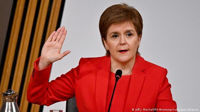 Schottland Untersuchungsausschuss Nicola Sturgeon