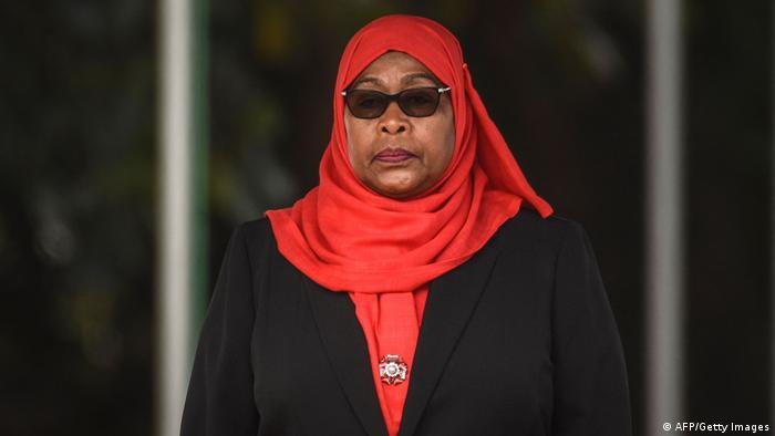 Tansania Daressalam| Amtseinführung neue Präsidentin Samia Suluhu Hassan